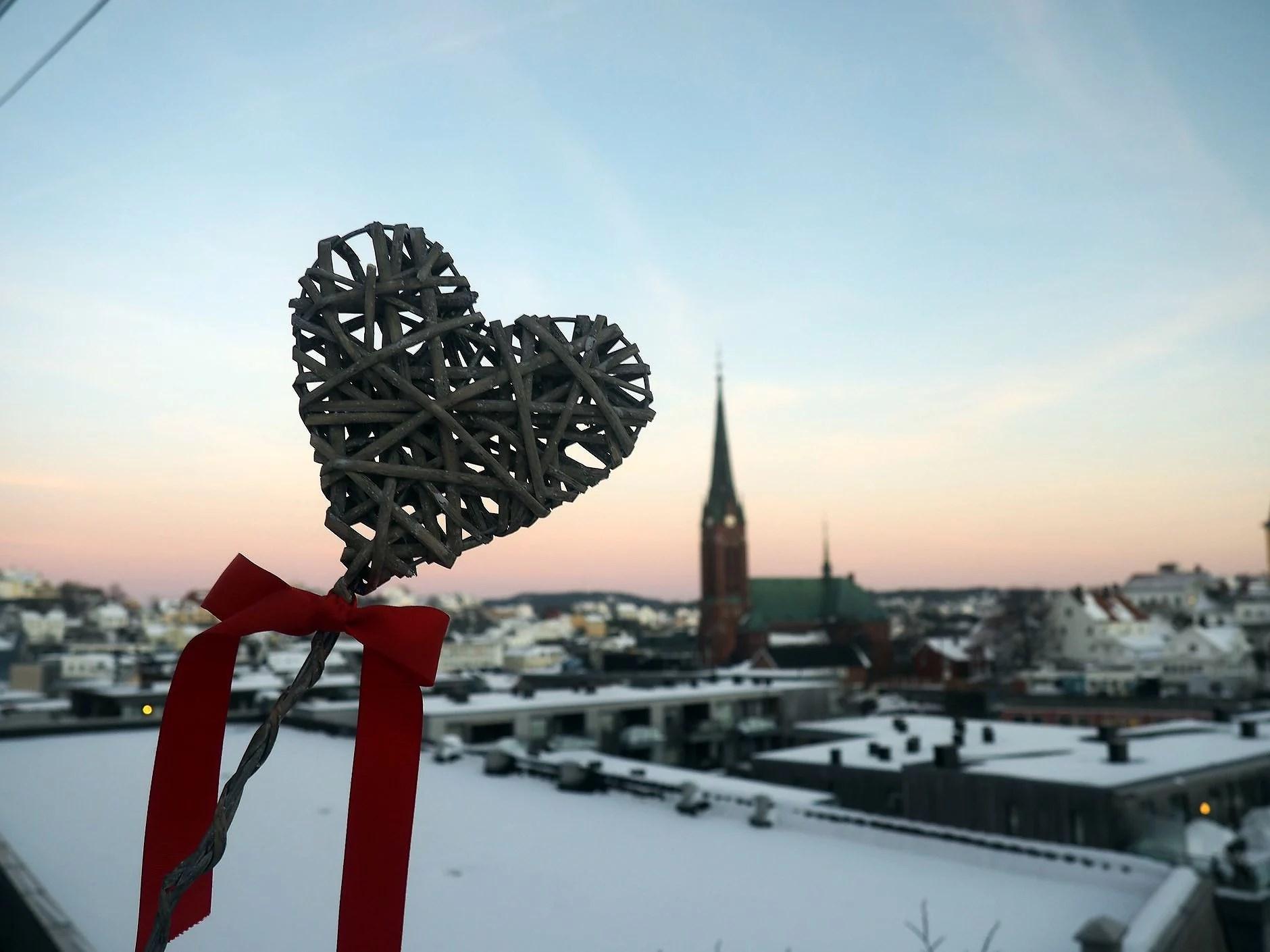 VIDEOBLOGG: Valentinsdag