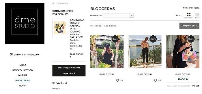 AME STUDIO bloggers
