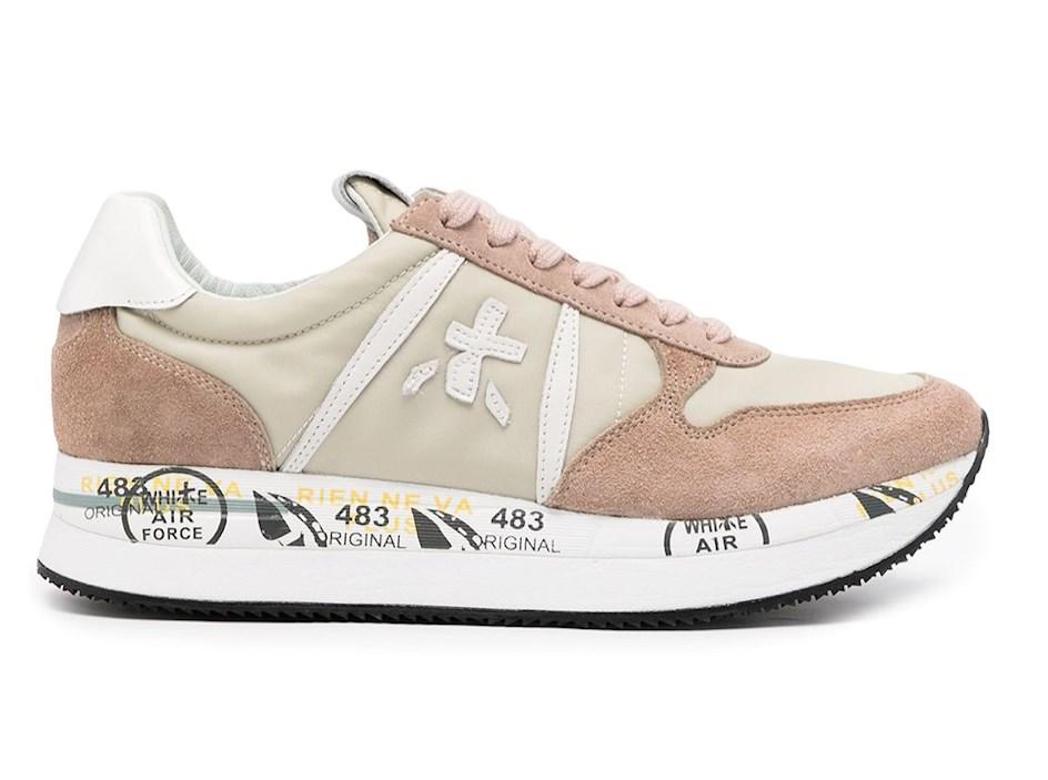 premiata sneaker, pink, beige, neutral sneakers 2021
