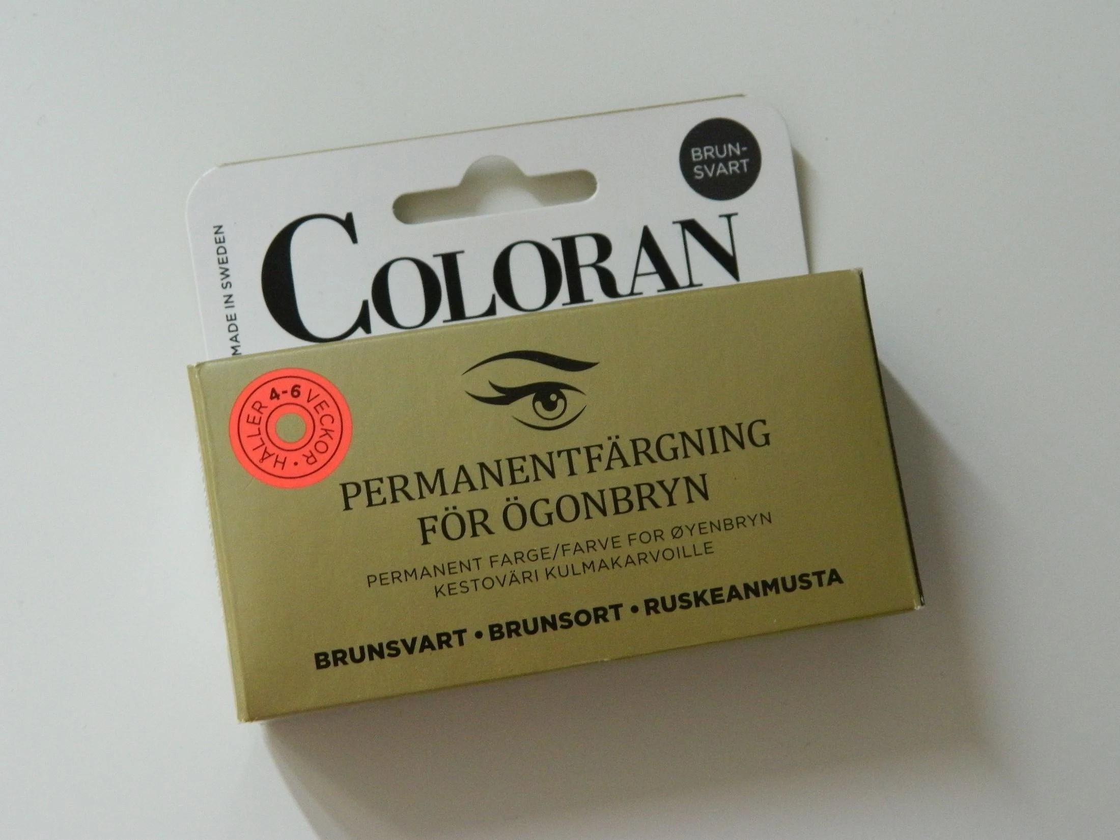 Brynfärg, akuten.