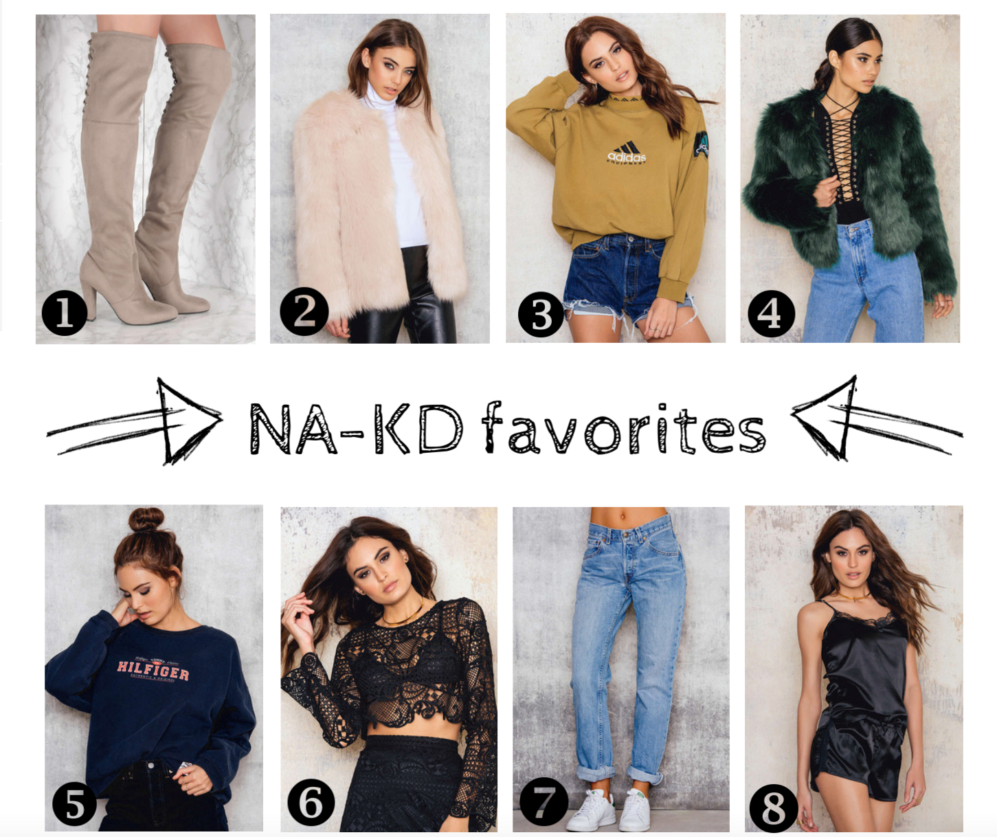 NA-KD FAVORITES / MY DAY