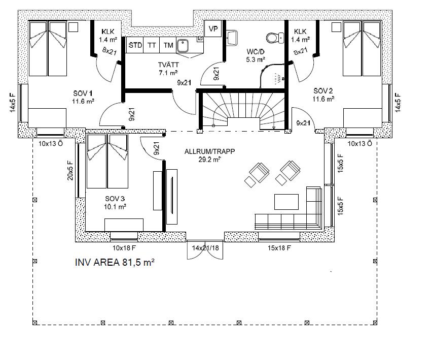 Huset - Planlösning!