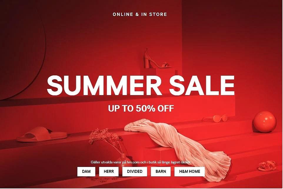 H&M sommarrea har startat