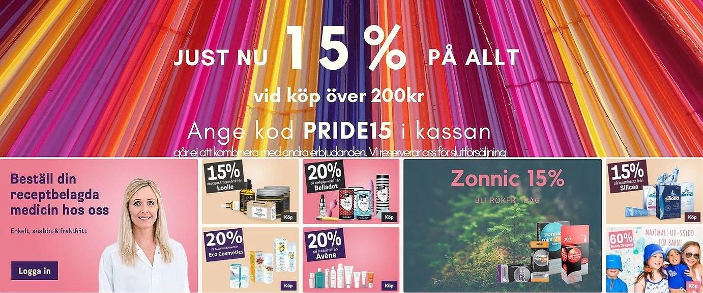 15% rabatt hos Apoteket Meds med rabattkod