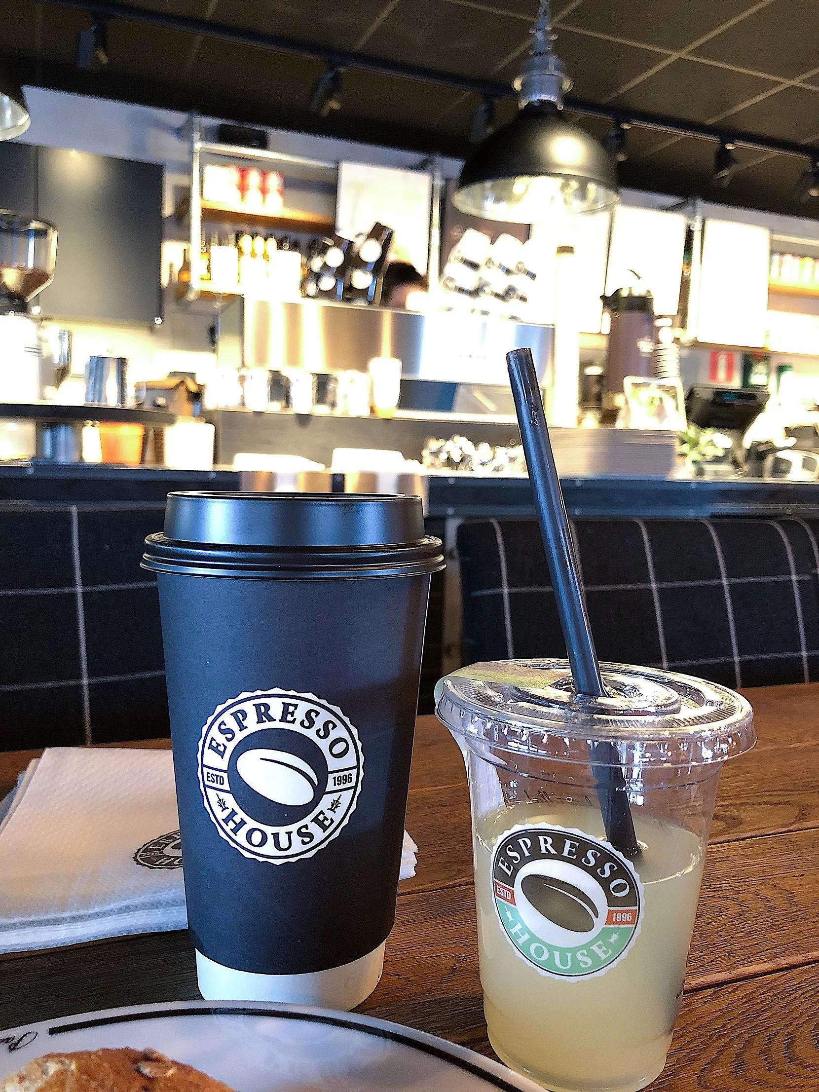 Dagens goda på Espresso House