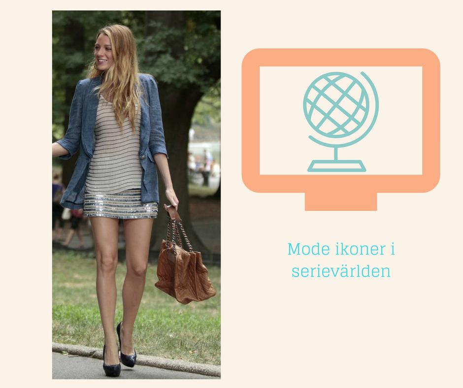 Mode ikoner i Serievärlden
