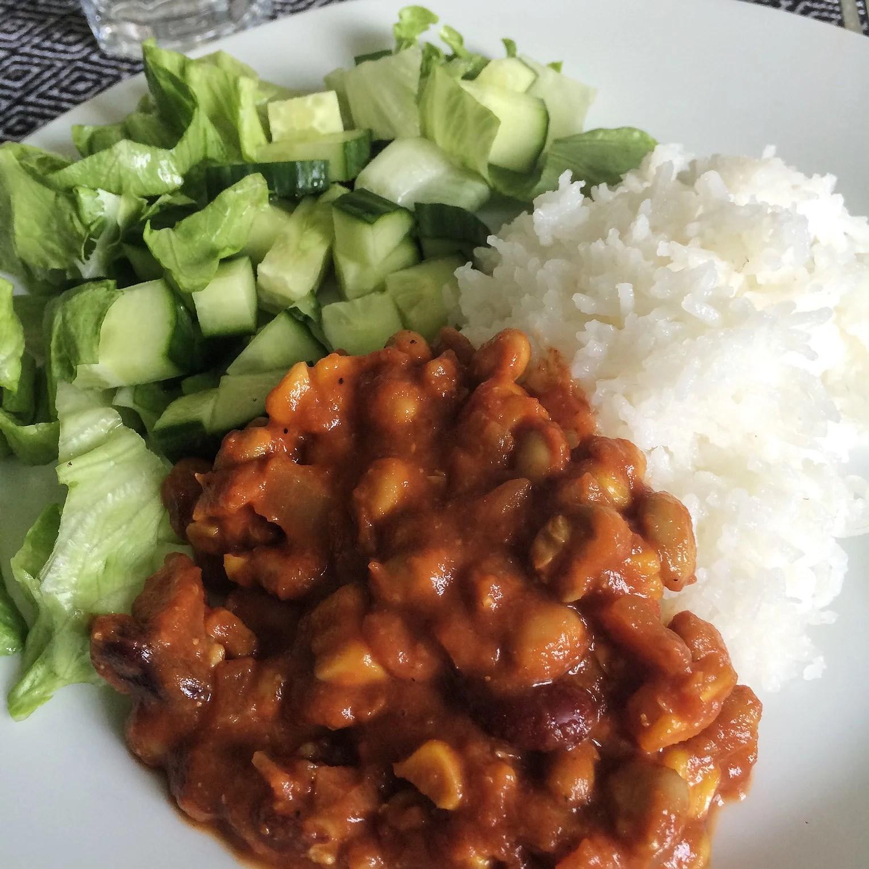 #FiaFixar - Vegansk chili con carne