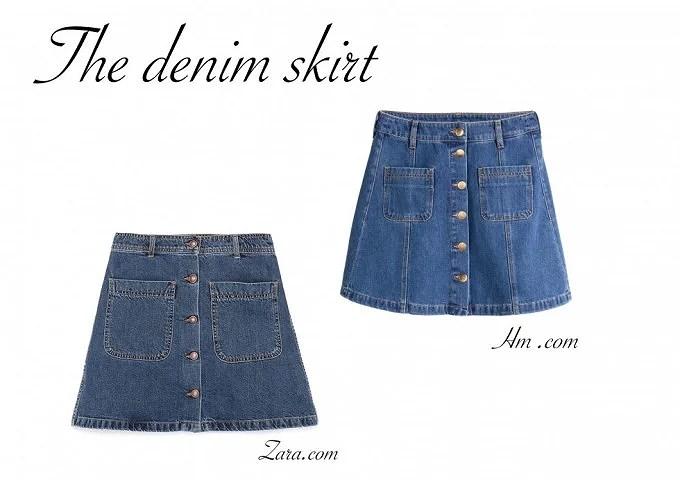 Trend: Denim-nederdele
