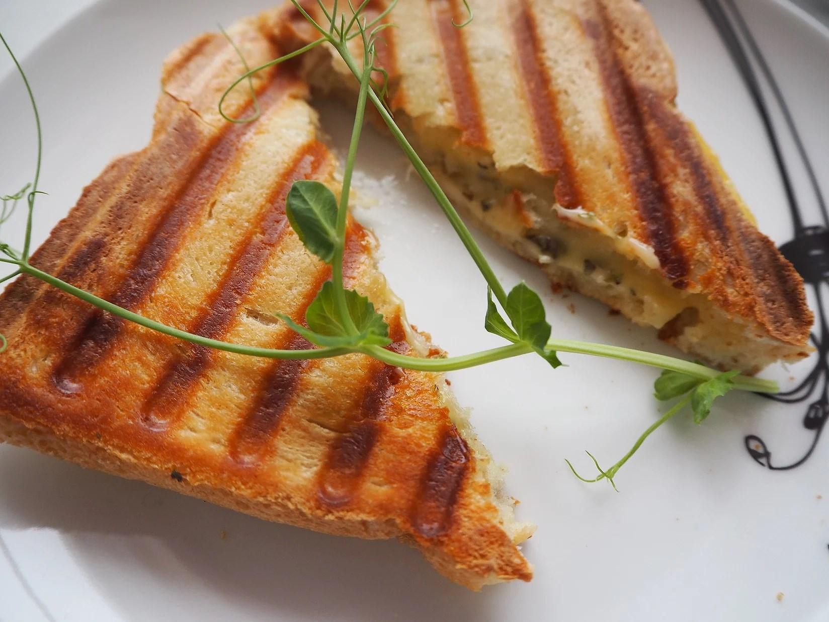 Malin testar - vegansk toast