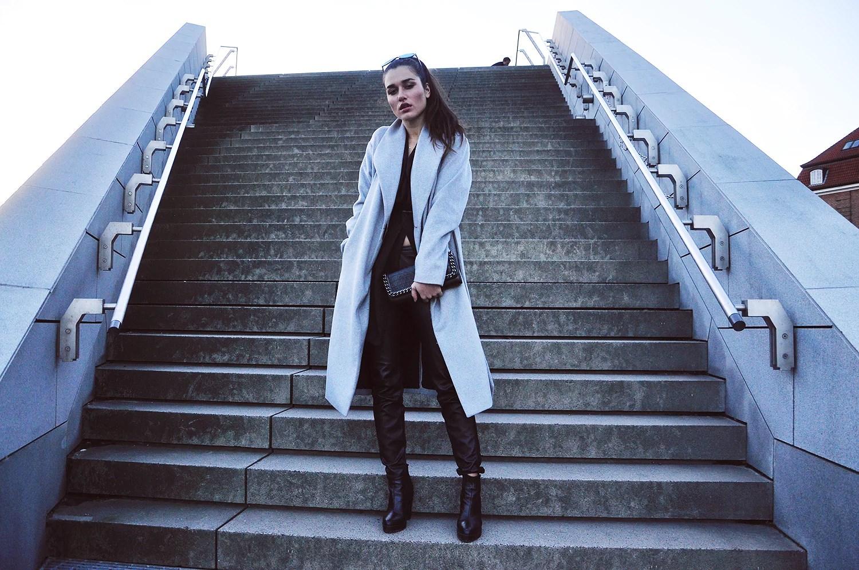 grey ilirida coat