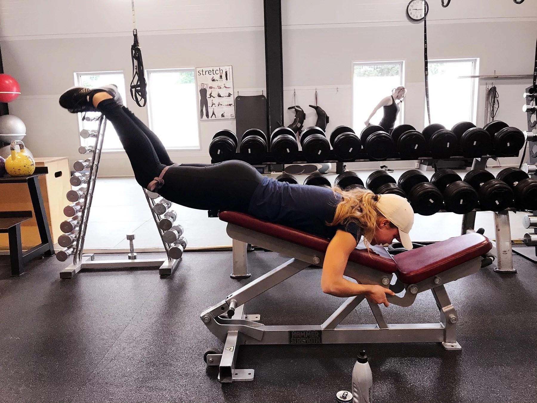 En paus för träning