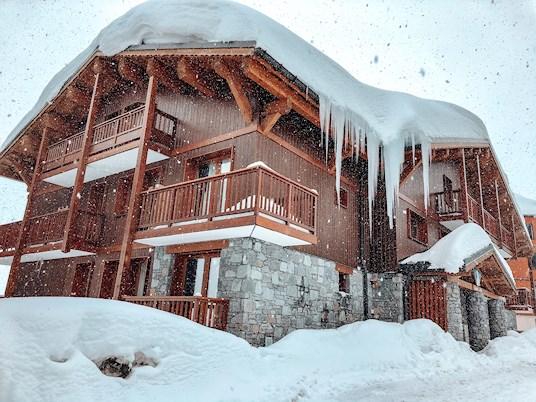 sne, hus