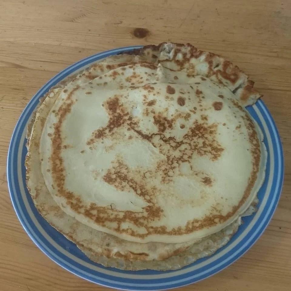 Pannkakor och Möte