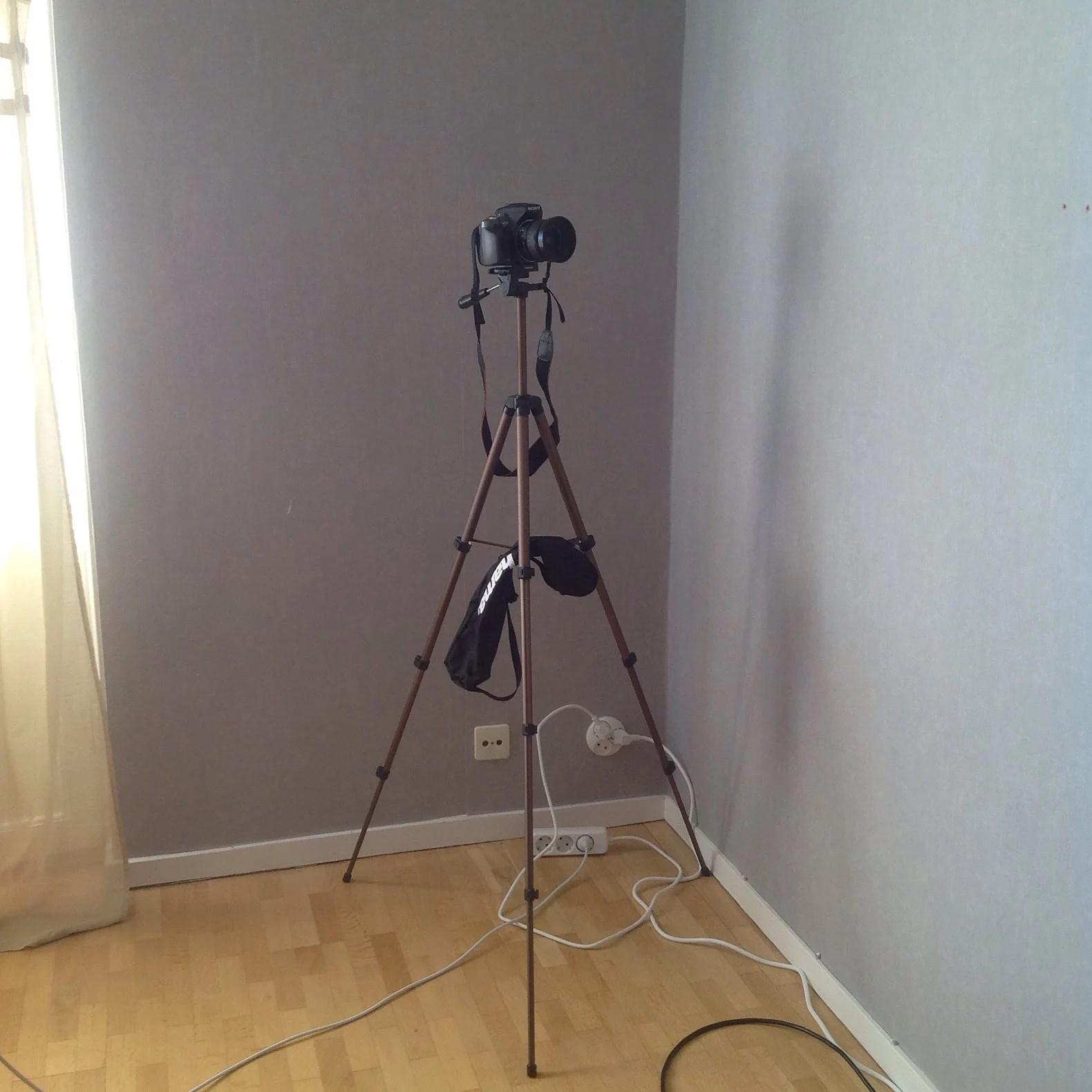 Stativ till kameran 👍