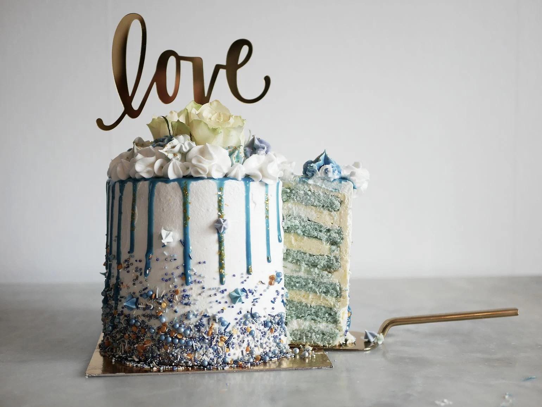 Tårta - Den blåa drömmen