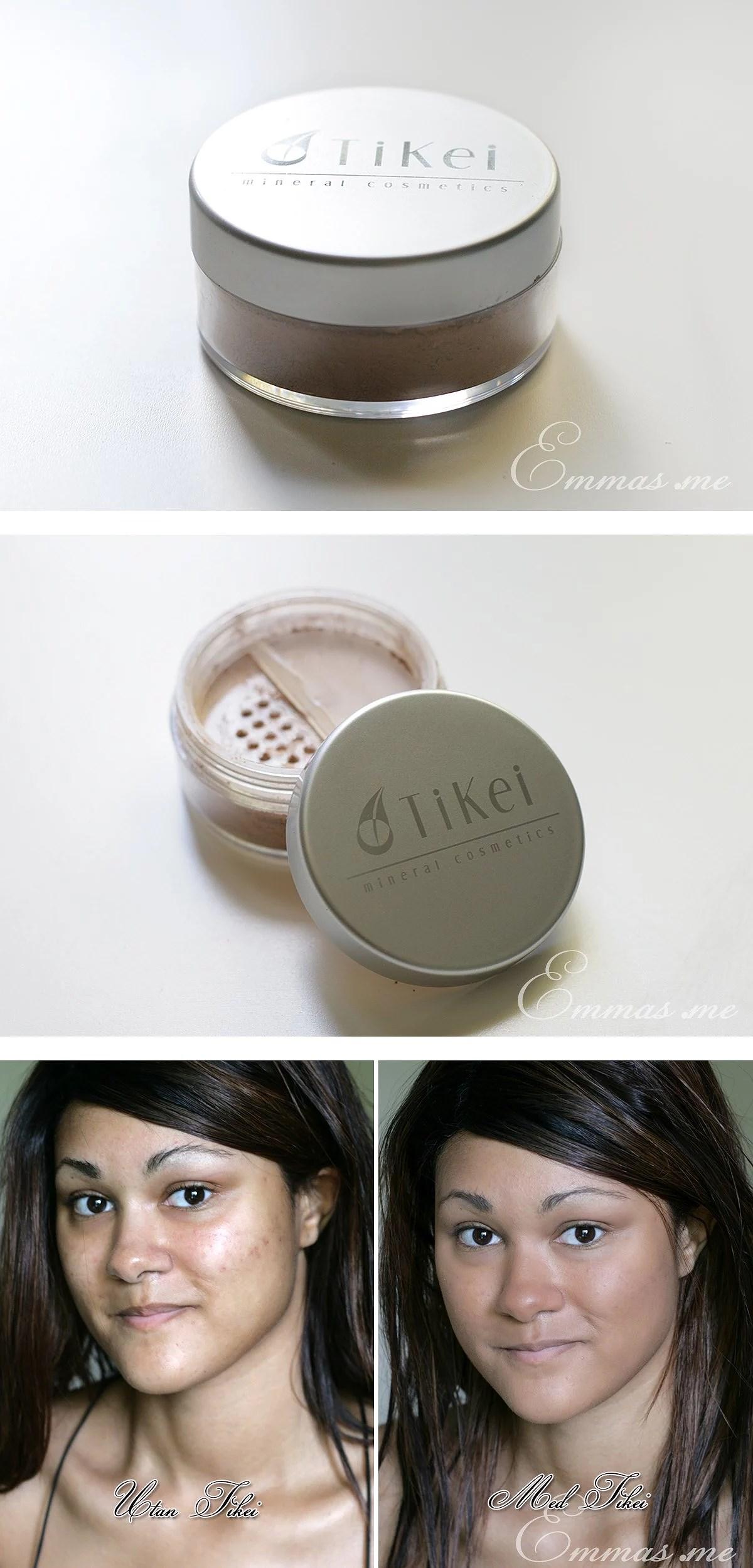 TiKei mineralpuder - Recension