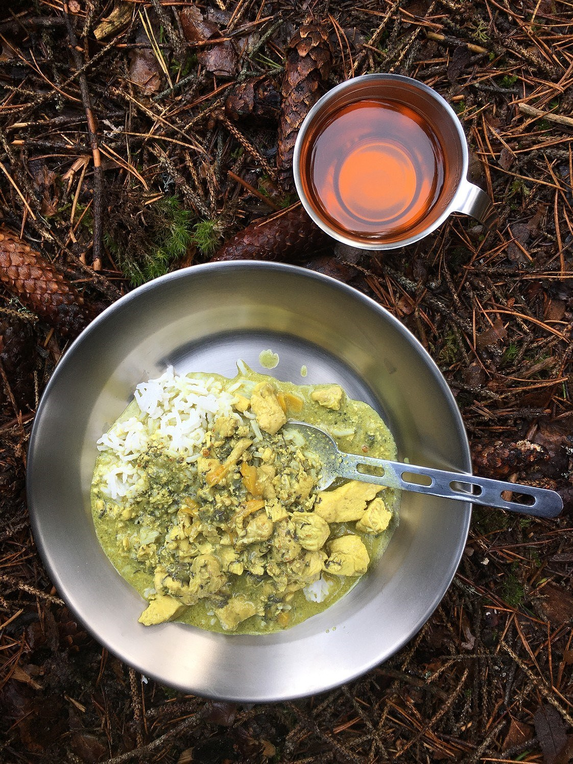 Kycklinggryta curry