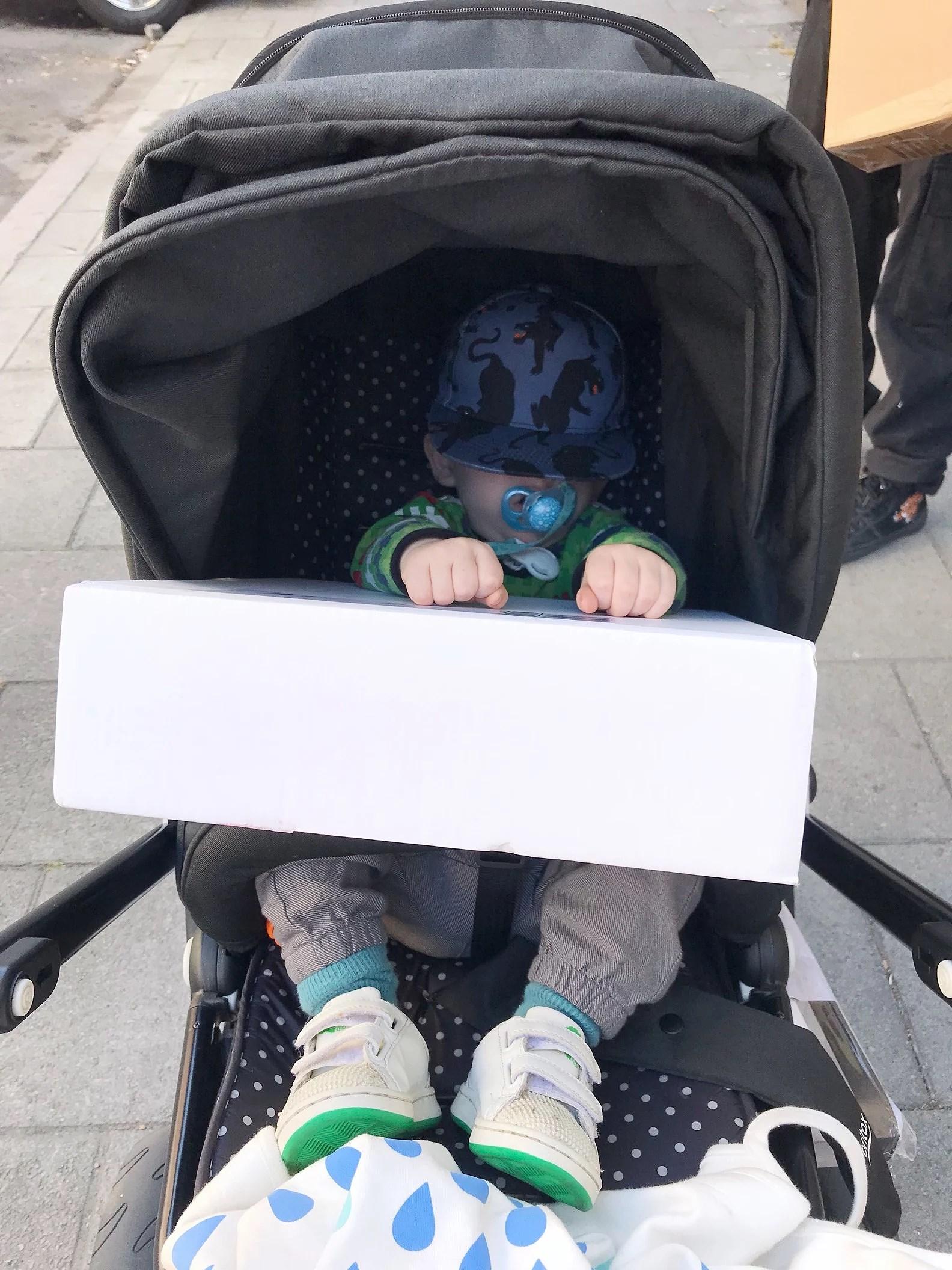Lång promenad & Gratis barnkläder!