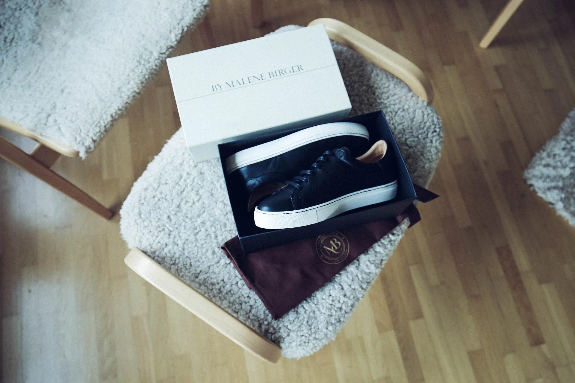 Black Culorbe Sneakers - By Malene Birger