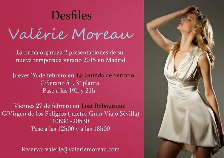 Desfiles Valérie Moreau
