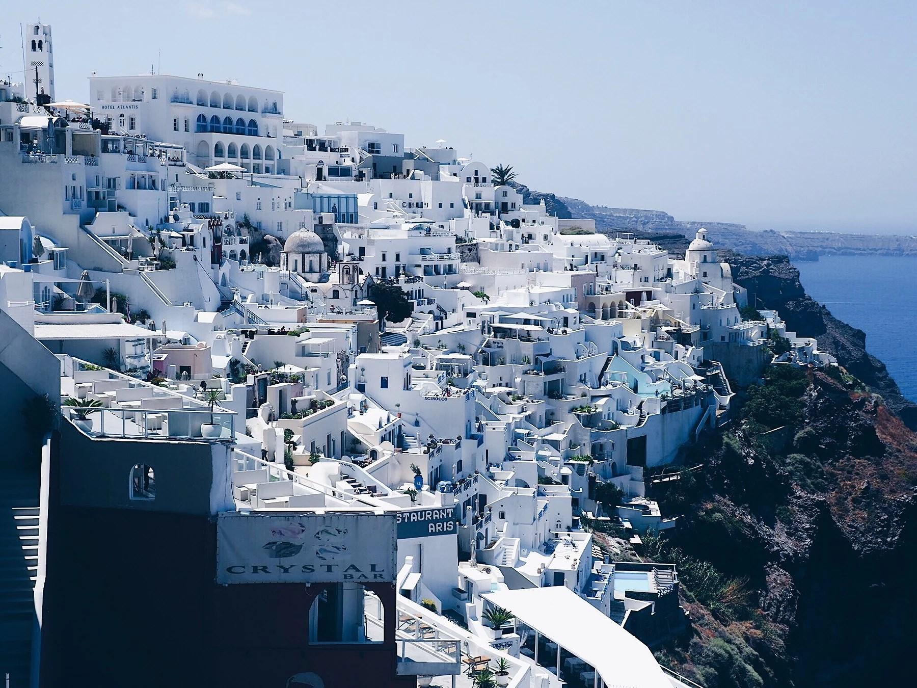 Postcard from Santorini
