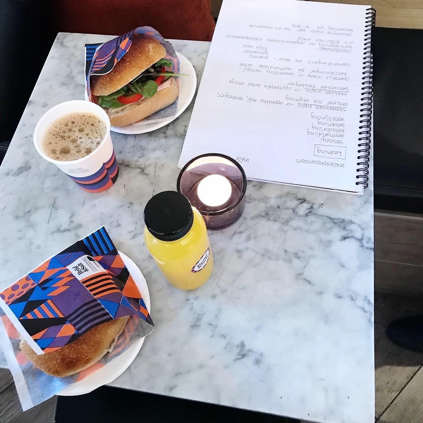Ätit massor och pluggat.