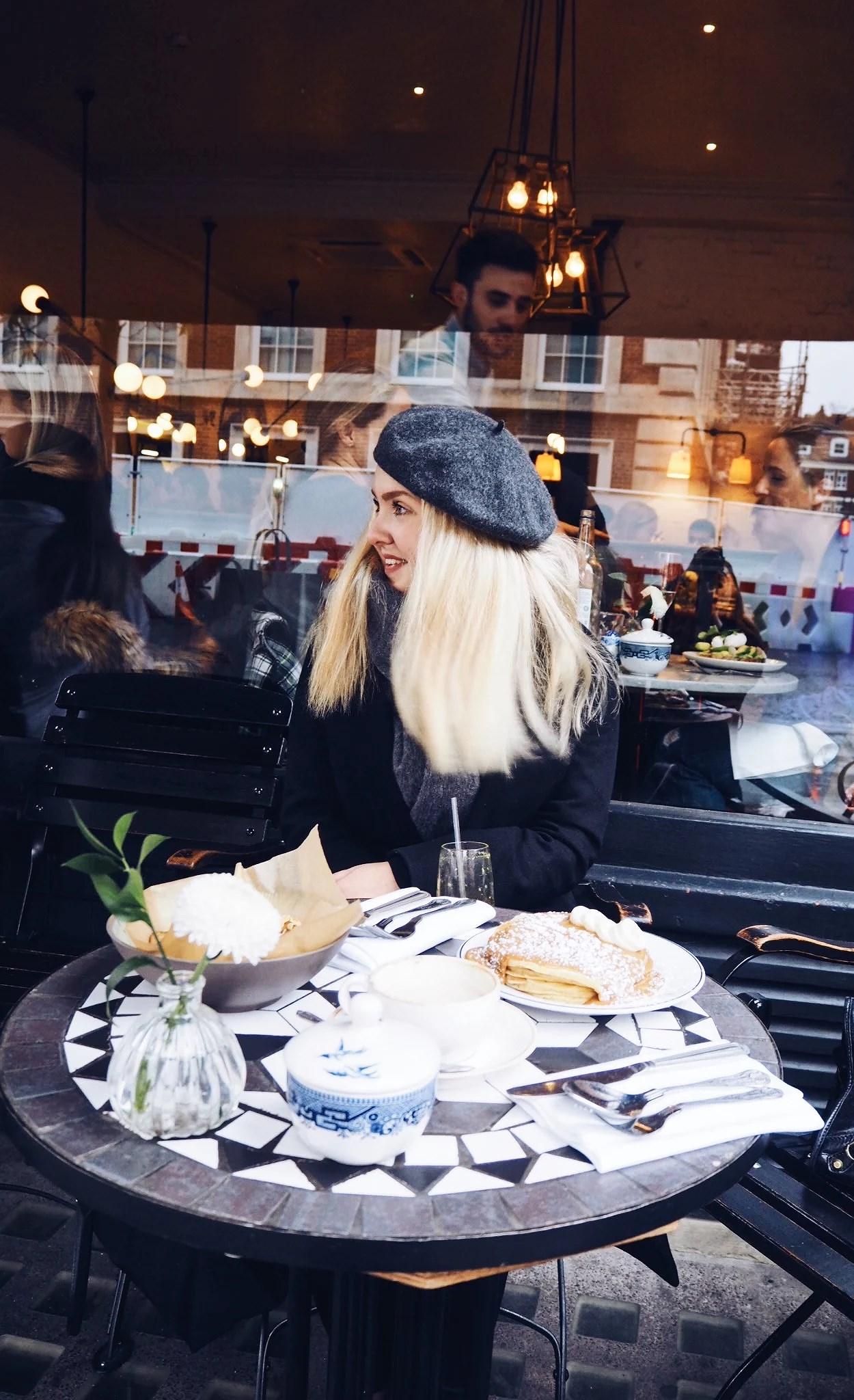 Min franska dejt i London