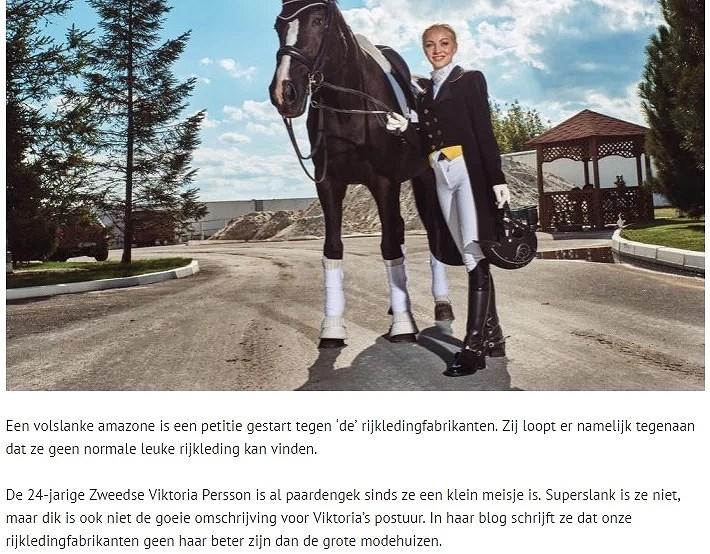 Kampanjen har nått Holland!
