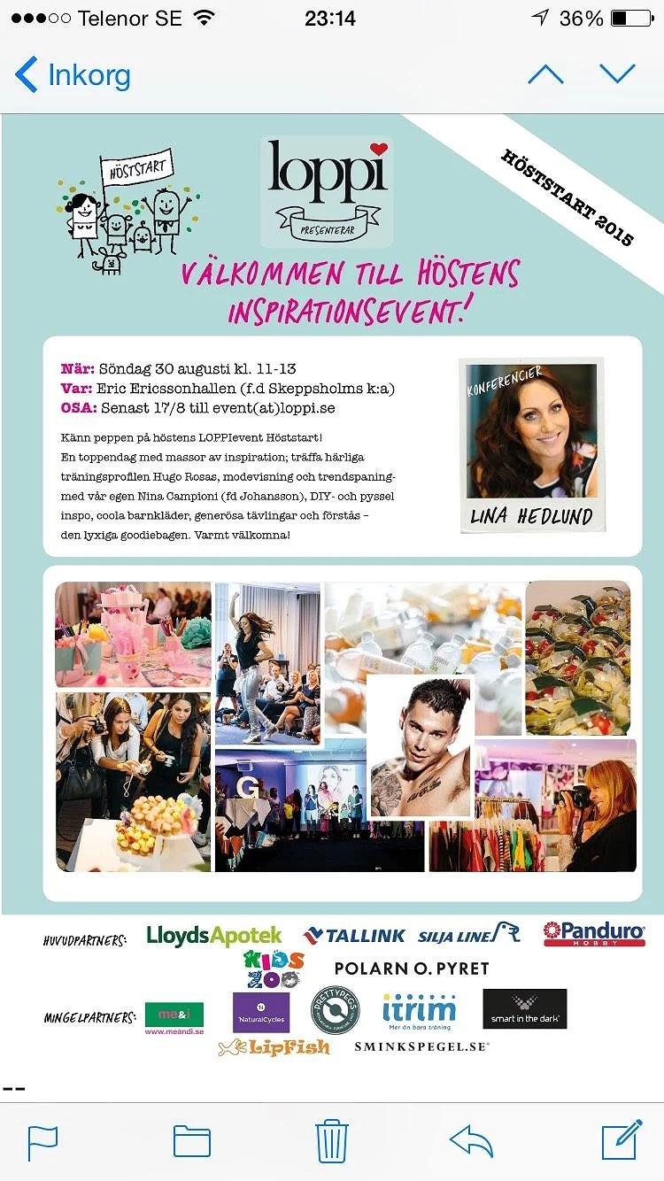 Loppi höstpepp-event!!