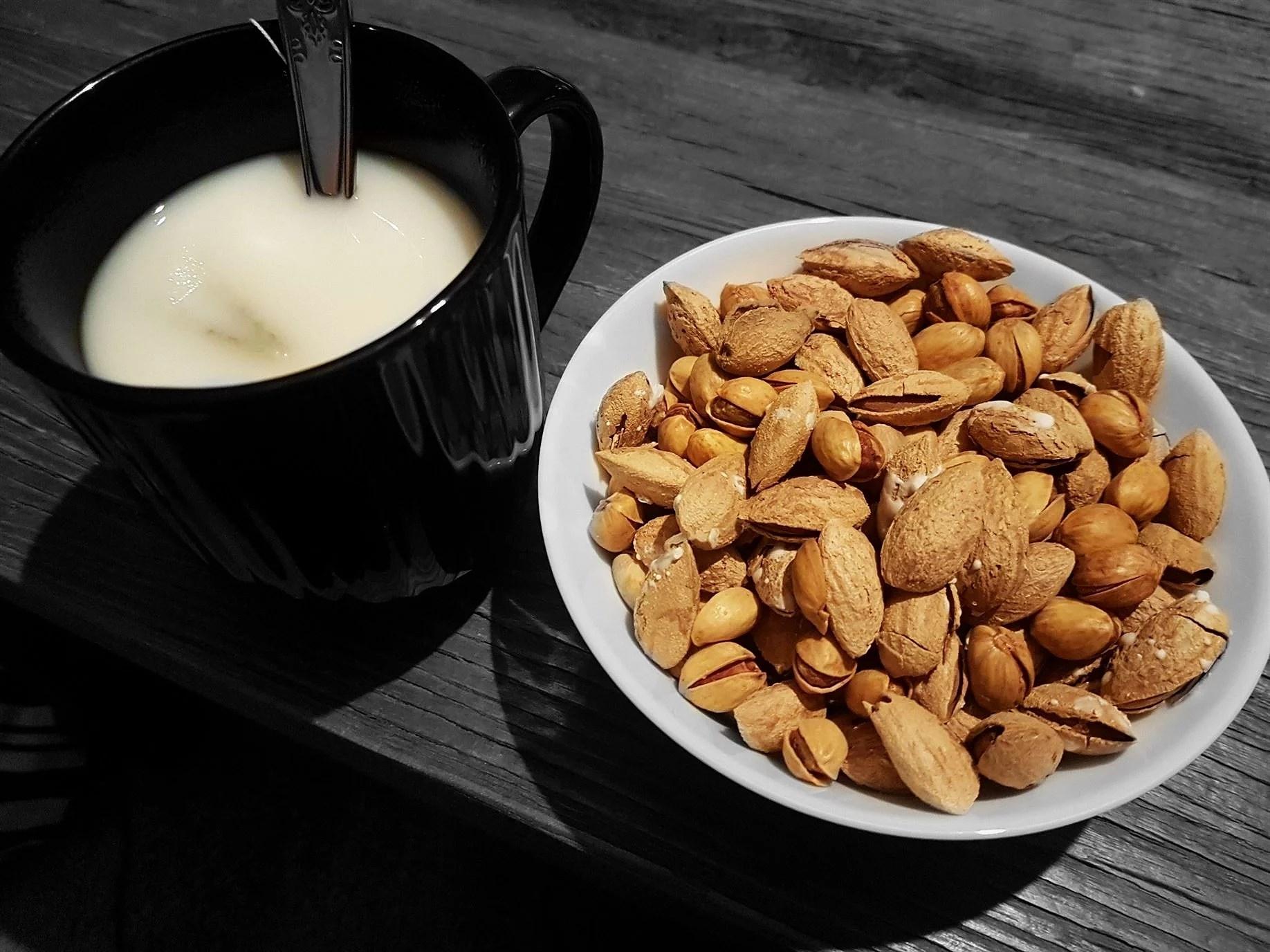 Protein i nötter och fröer