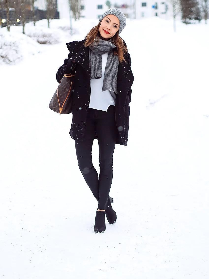 lumisateessa