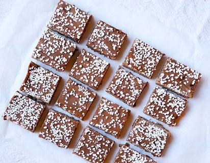 fridas chokladbollar i långpanna