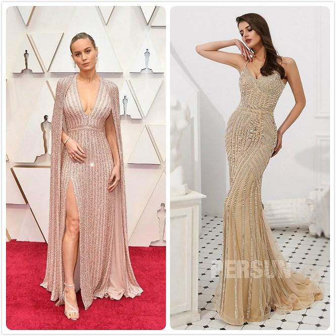 robe de soirée longue simple sexy 2020