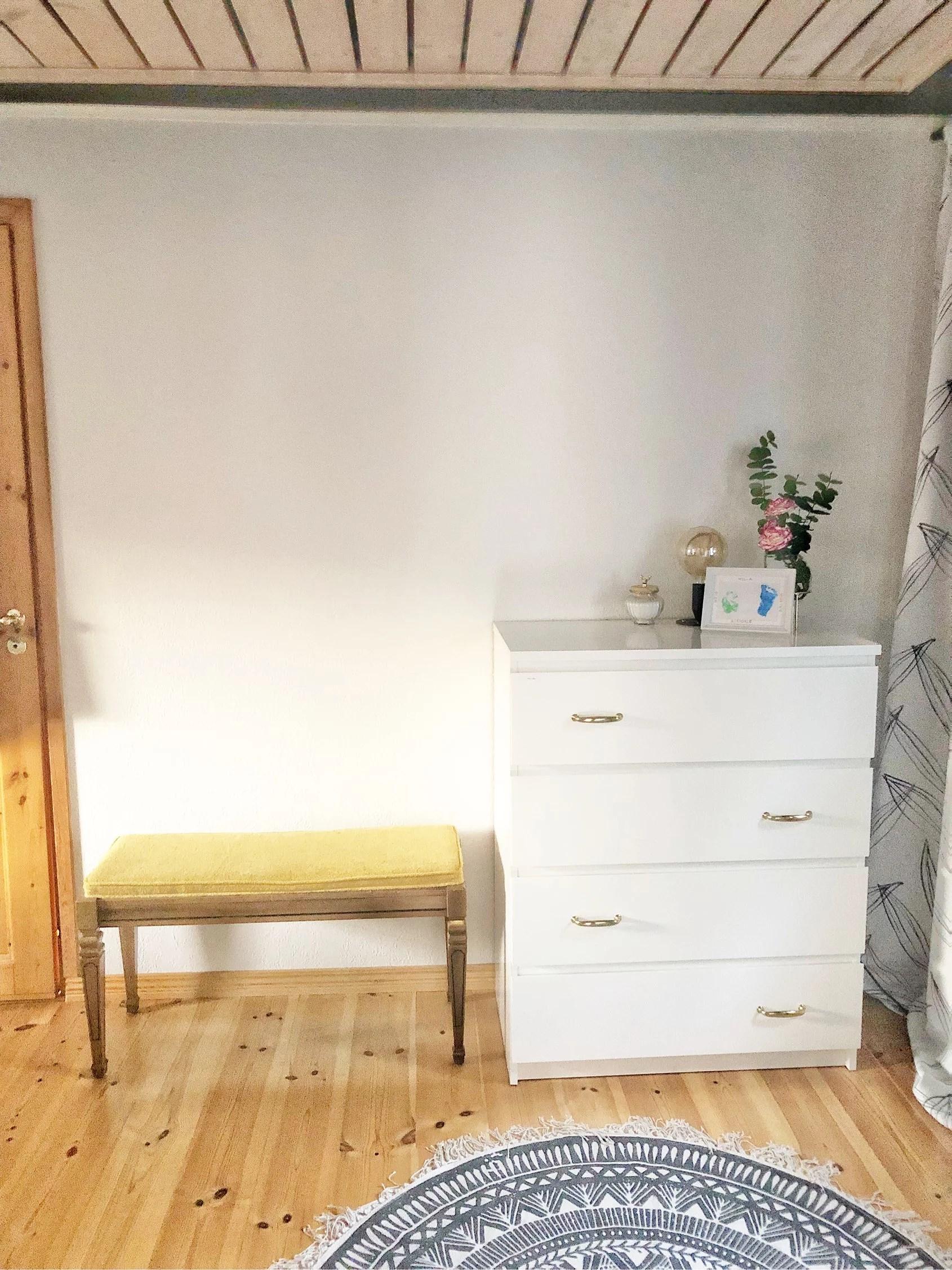 Möblerat om i sovrummet!