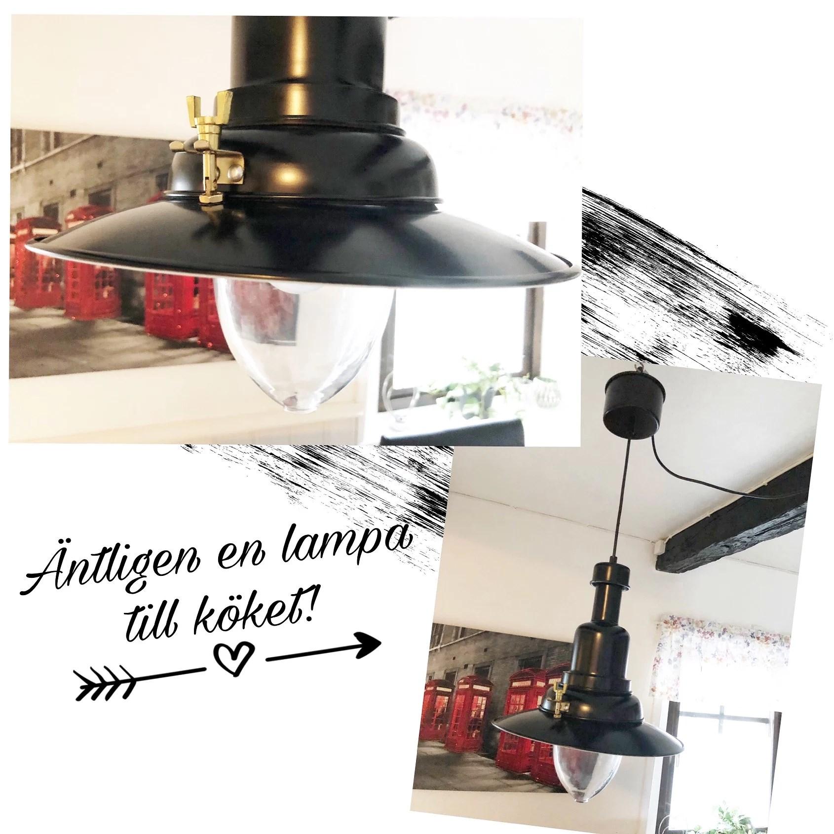 En lampa till köket!