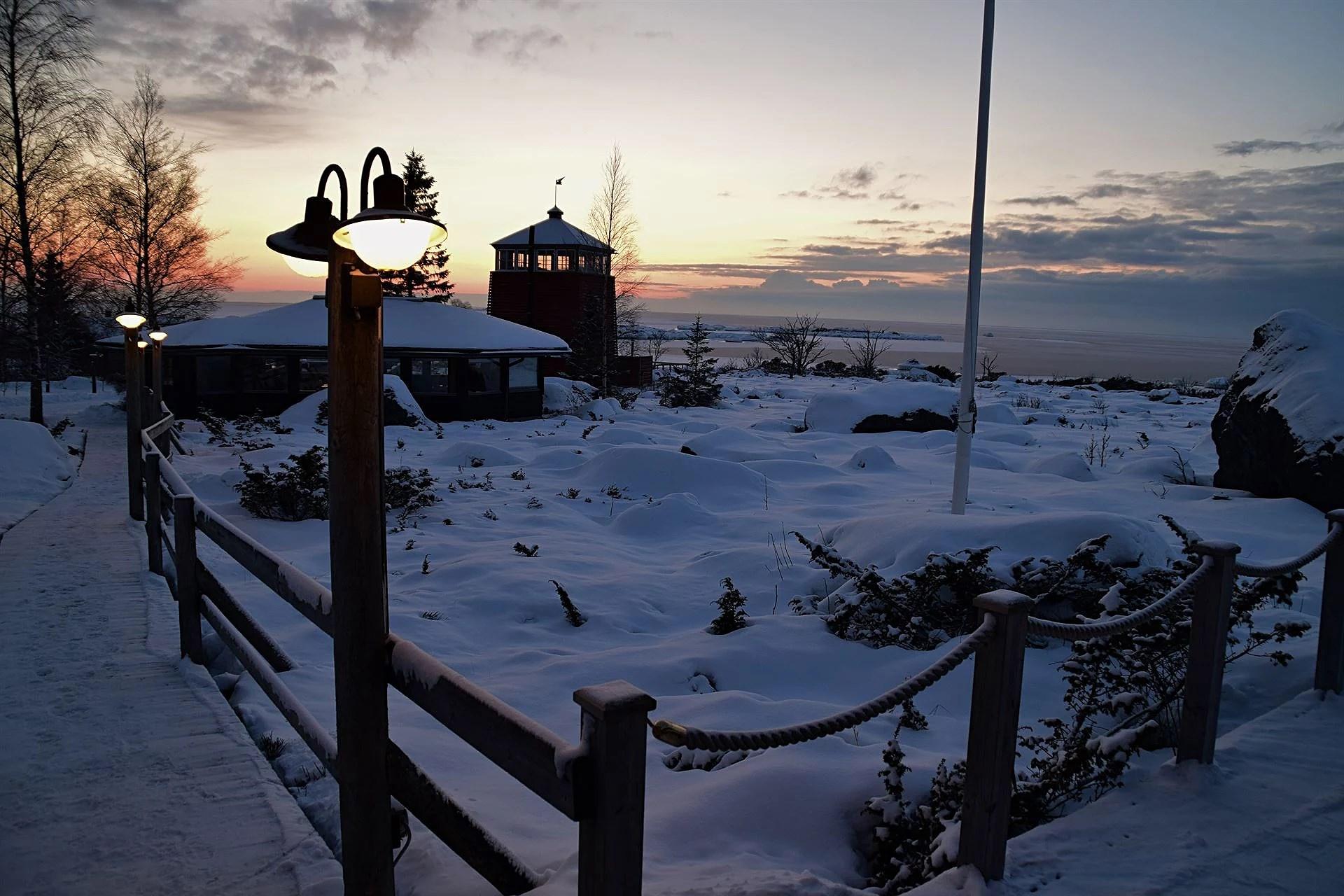 Olympiad i en vacker vintervärld