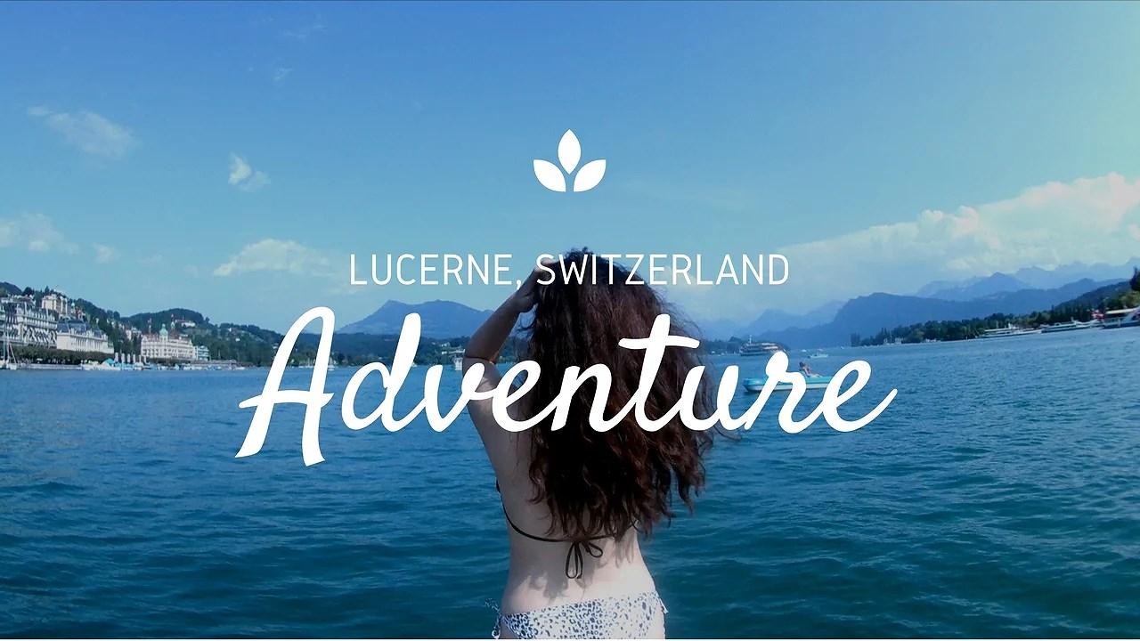 Adventure - Lake of Lucerne, Switzerland