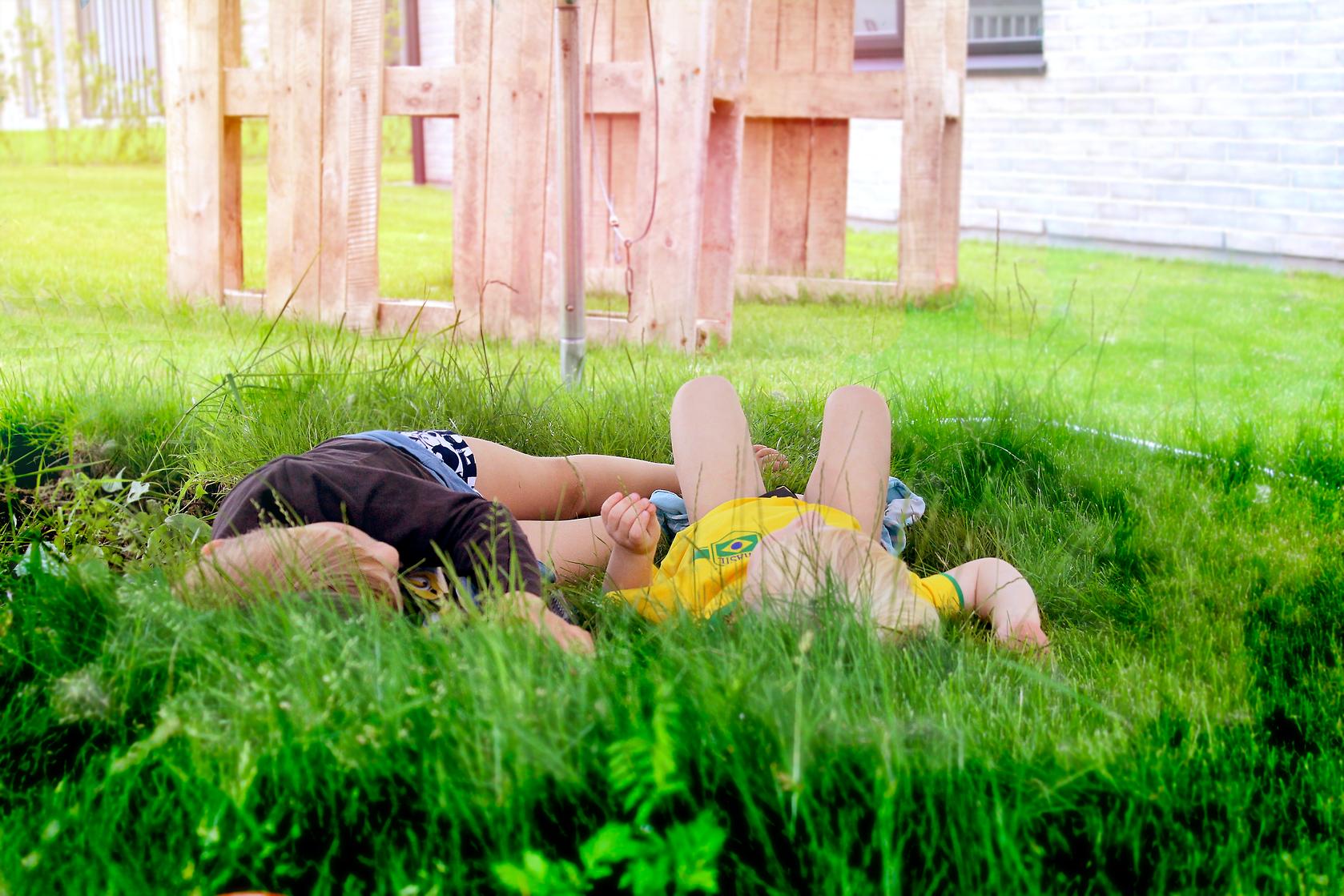Billederedigering og stille eftermiddage i baghaven