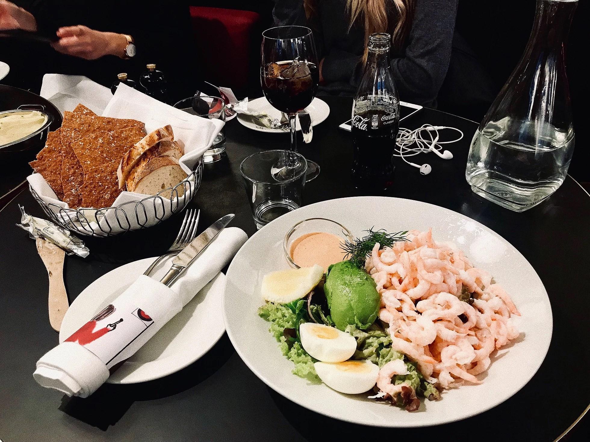 Brunchen blev till lunch