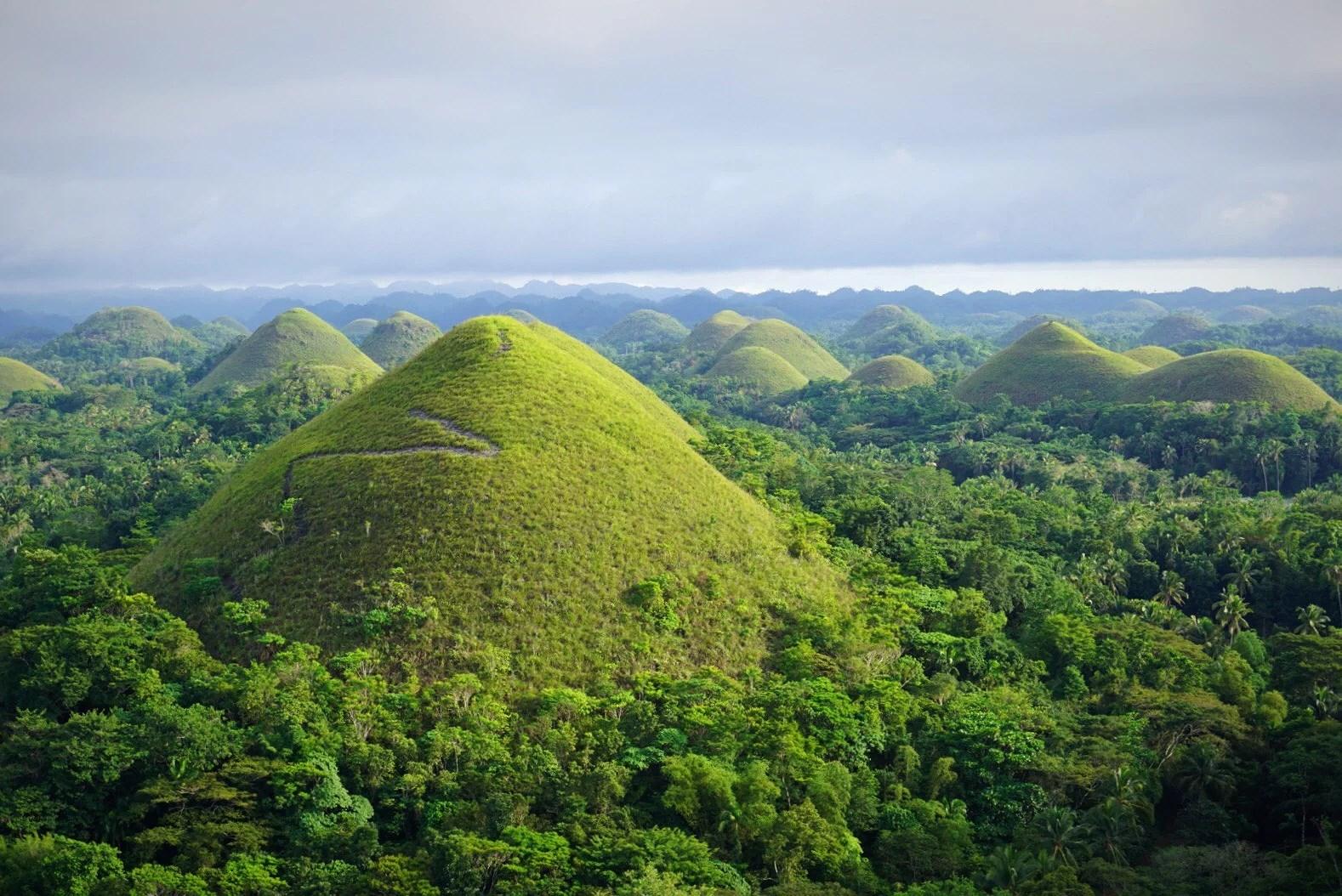 Natur och nyårsfirande på Bohol