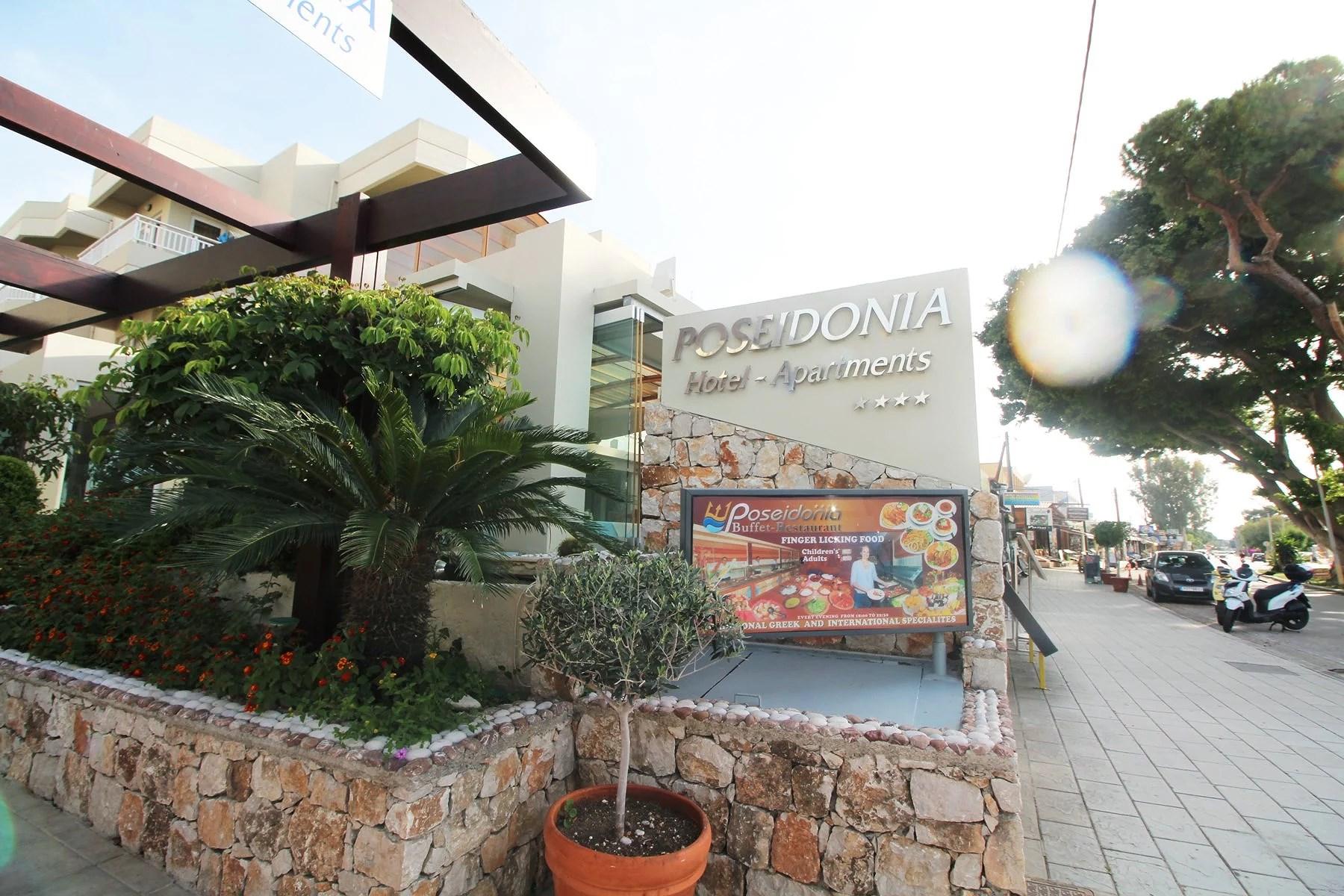 Rhodos - Poseidonia Apartments Hotel