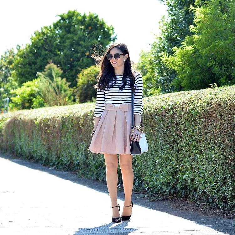 zara_chicwish_ootd_outfit_como_combinar_stripes_falda_04
