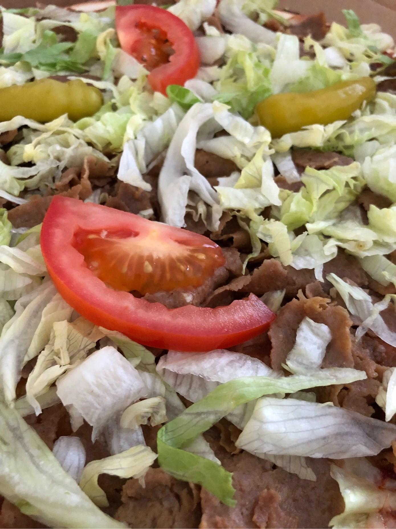 Min svaghet i kosten - kebabpizza