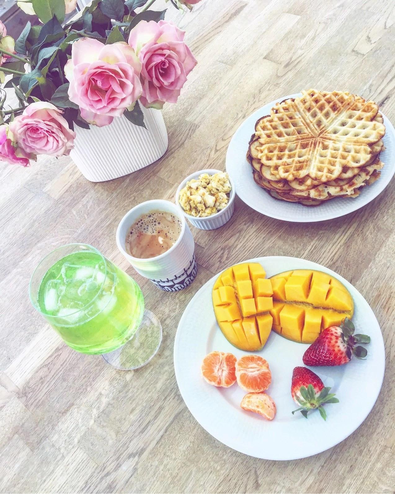 Sista frukosten här hemma!