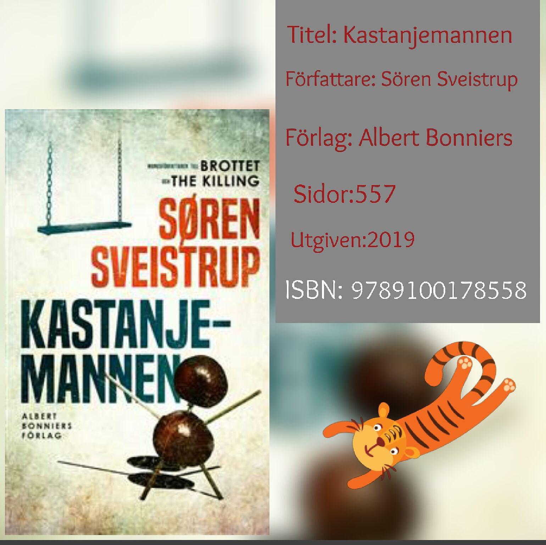 Kastanjemannen- Sören Sveistrup