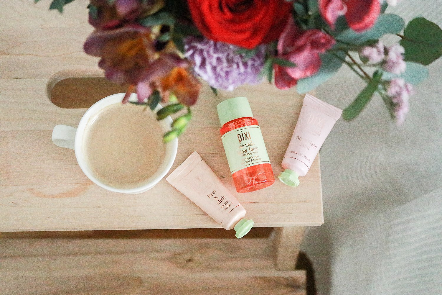 Skincare Routine with Pixi