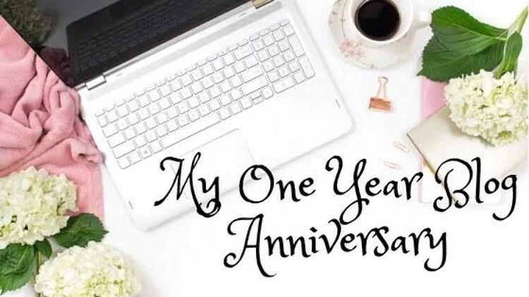 One year Blogiversary..