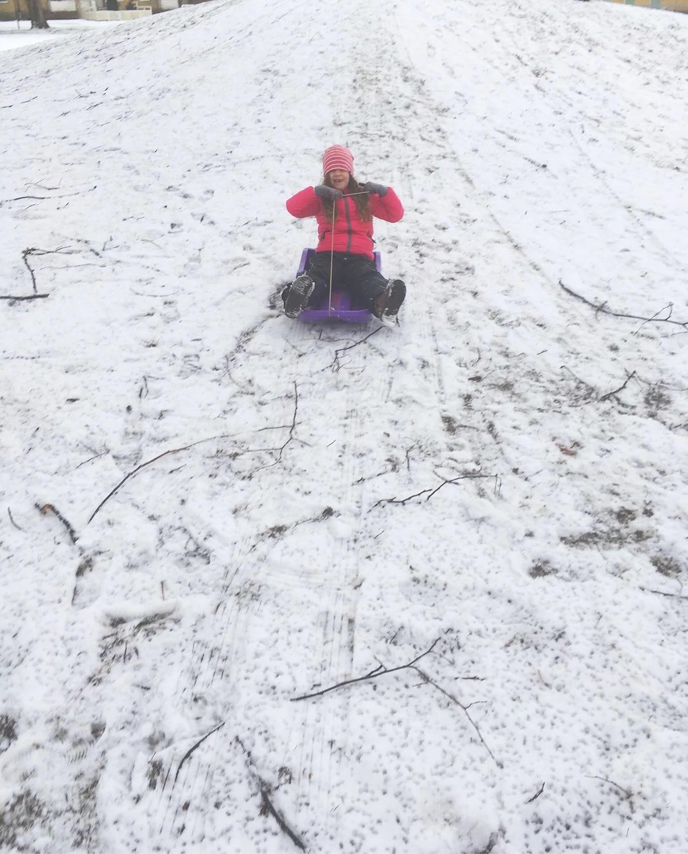 Snö :)