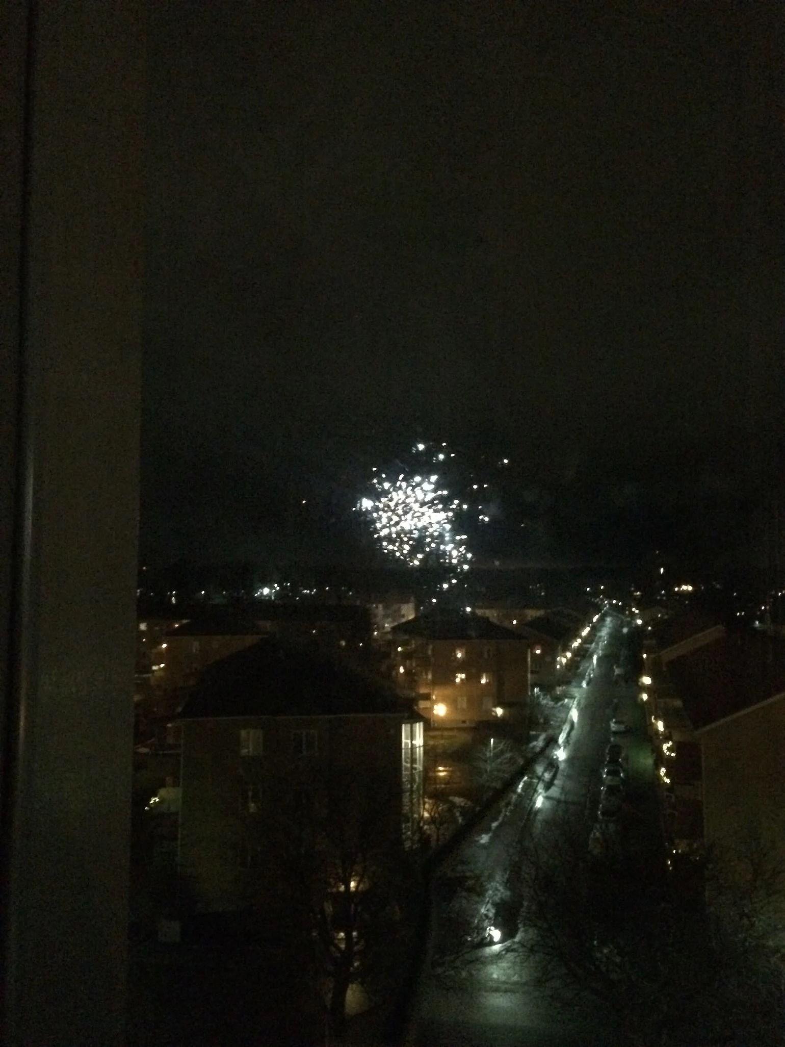 Min nyårskväll
