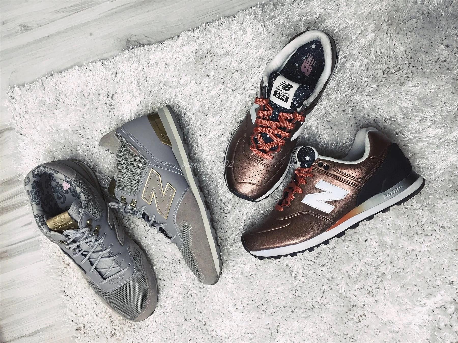 Dwie nieszablonowe stylizacje z butami New Balance